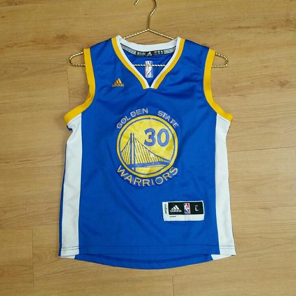 quality design 28e34 7d0a5 Adidas NBA Golden State Warriors Curry #30 jersey